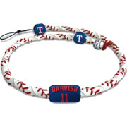 GameWear Texas Rangers Yu Darvish Classic Frozen Rope Baseball Necklace
