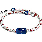 GameWear New York Yankees Derek Jeter Classic Jersey Frozen Rope Baseball Necklace