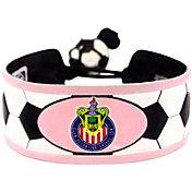 Chivas USA Classic Pink Soccer Bracelet