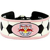 New York Red Bulls Classic Pink Soccer Bracelet
