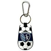 Sporting KC Classic Soccer Keychain