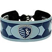 Sporting KC Team Color Soccer Bracelet