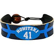 GameWear Dallas Mavericks Dirk Nowitzki NBA Bracelet
