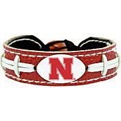 GameWear Nebraska Cornhuskers Team-Colored Football Bracelet