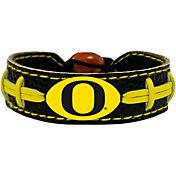 GameWear Oregon Ducks School-Colored Football Bracelet