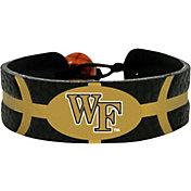 Wake Forest Demon Deacons Team Color Basketball Bracelet