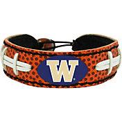 GameWear Washington Huskies Classic Football Bracelet