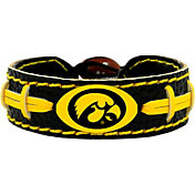GameWear Iowa Hawkeyes Team-Colored Football Bracelet