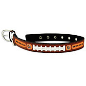 Cincinnati Bengals Classic Leather Football Dog Collar