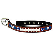 Indianapolis Colts Classic Leather Football DogCollar