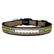 Green Bay Packers Reflective Dog Collar