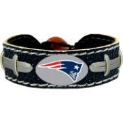 GameWear New England Patriots NFL Team Color Football Bracelet