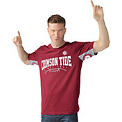 Hands High Men's Alabama Crimson Tide Crimson Coin Toss T-Shirt