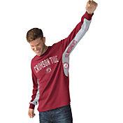 Hands High Men's Alabama Crimson Tide Crimson Gridiron Thermal Long Sleeve Shirt