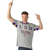 Hands High Men's LSU Tigers Grey Cut Back T-Shirt
