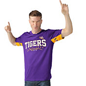 Hands High Men's LSU Tigers Purple Coin Toss T-Shirt