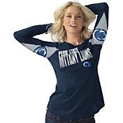 Hands High Women's Penn State Nittany Lions Blue Handoff Long Sleeve Shirt