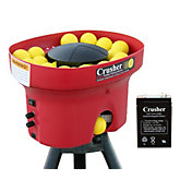 Heater Crusher Curve Mini Lite-Ball Pitching Machine w/ 4-Hour Battery
