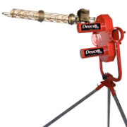 Heater Deuce Pitching Machine with Ball Feeder