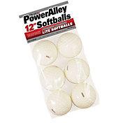 """Heater 12"""" PowerAlley Pitching Machine Lite Softballs - 6 Pack"""