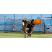Heater PowerAlley Lite Baseball Pitching Machine & Home 20' Batting Cage