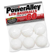 Heater PowerAlley Pitching Machine Lite-Balls - 6 Pack