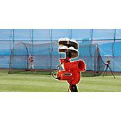 Heater Slider Lite-Ball Pitching Machine & Xtender 24' Batting Cage