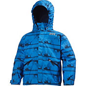 Helly Hansen Toddler Boys' Jotun Printed Rain Jacket