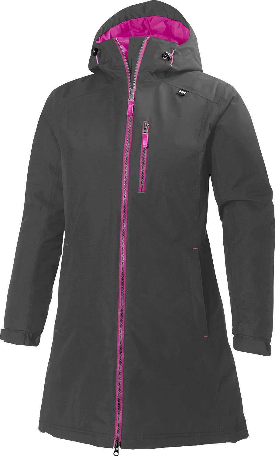 Helly Hansen Women's Long Belfast Insulated Rain Jacket | DICK'S ...
