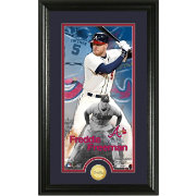 Highland Mint Atlanta Braves Freddie Freeman Supreme Bronze Coin Photo Mint