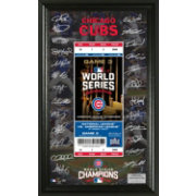 Highland Mint 2016 World Series Champions Chicago Cubs Signature Ticket