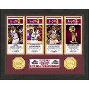 Highland Mint 2016 NBA Champions Cleveland Cavaliers Ticket Collection