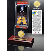 The Highland Mint Kansas Jayhawks 3x National Basketball Champions Ticket and Coin Display