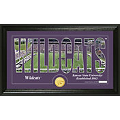 Highland Mint Kansas State Wildcats Framed 'Silhouette' Bronze Coin Photo Mint