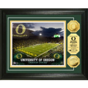The Highland Mint Oregon Ducks Stadium Gold Coin Photo Mint