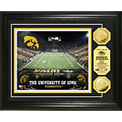 The Highland Mint Iowa Hawkeyes Stadium Gold Coin and Photo Mint