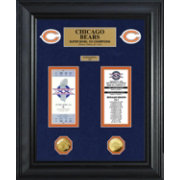 The Highland Mint Chicago Bears Super Bowl Ticket and Coin Collection