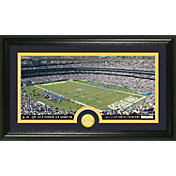 The Highland Mint San Diego Chargers Qualcomm Stadium Panoramic with Bronze Coin