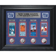 The Highland Mint New York Giants Super Bowl Ticket and Coin Collection
