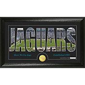 The Highland Mint Jacksonville Jaguars Framed 'Silhouette' Bronze Coin Photo Mint
