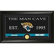 The Highland Mint Jacksonville Jaguars 'The Man Cave' Framed Bronze Coin Photo Mint