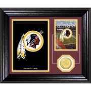 The Highland Mint Washington Redskins Framed Memories Photo Mint
