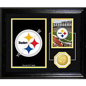 The Highland Mint Pittsburgh Steelers Framed Memories Photo Mint