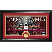 """The Highland Mint Cleveland Cavaliers LeBron James """"Return to Cleveland"""" Framed Coin & Photo"""