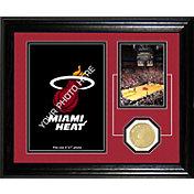 The Highland Mint Miami Heat Desktop Photo Mint