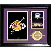The Highland Mint Los Angeles Lakers Desktop Photo Mint