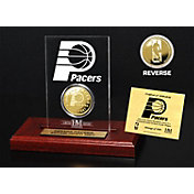 The Highland Mint Indiana Pacers Gold Coin Etched Acrylic
