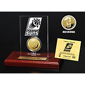 The Highland Mint Phoenix Suns Gold Coin Etched Acrylic