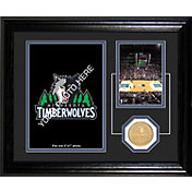 The Highland Mint Minnesota Timberwolves Desktop Photo Mint