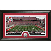 The Highland Mint Ohio State Buckeyes Panoramic Photo and Bronze Coin Mint